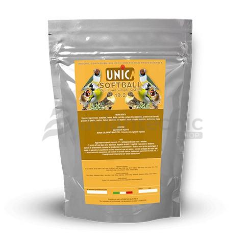 Softball Brown Unica (Perlas marrones 19% proteína)