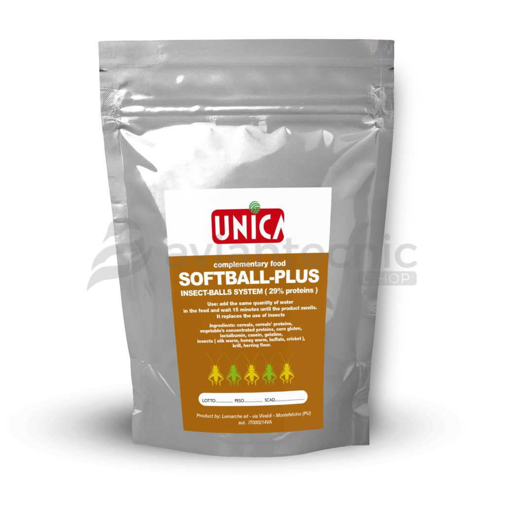 Softball Plus Unica (Perlas silvestres 29% proteína)