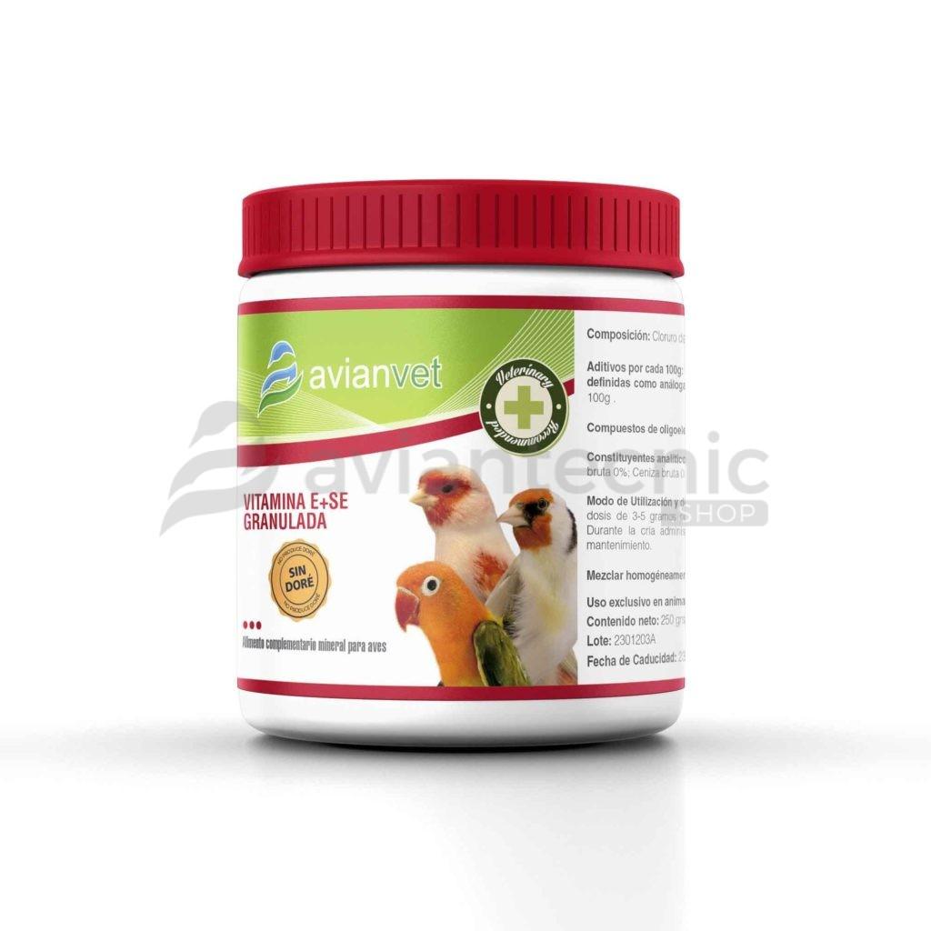 Vitamina E + Se Granulado Avianvet