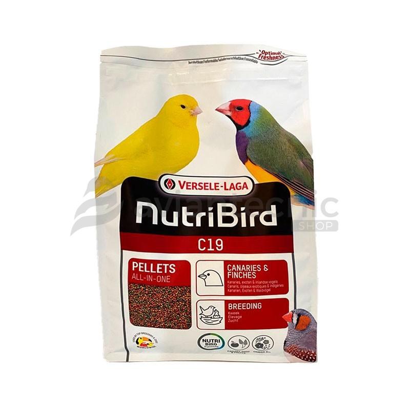 Pienso Nutribird C19 ¡NUEVO FORMATO!